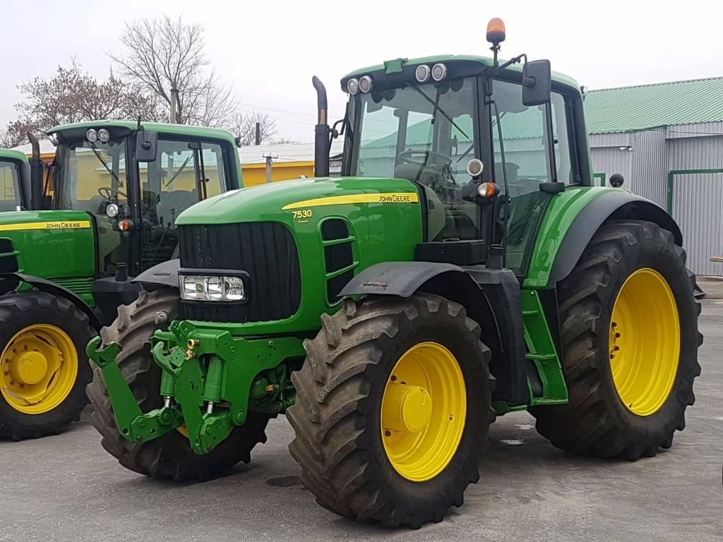 Used John Deere 7530 Premium tractors Year: 2008 Price ...