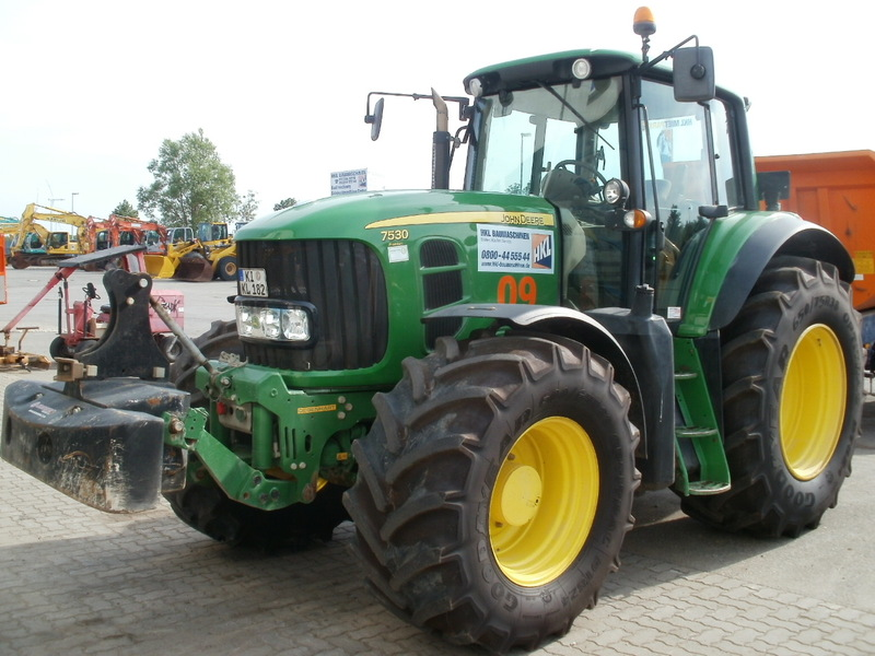 JOHN DEERE 7530 PREMIUM wheel tractor from Germany for ...
