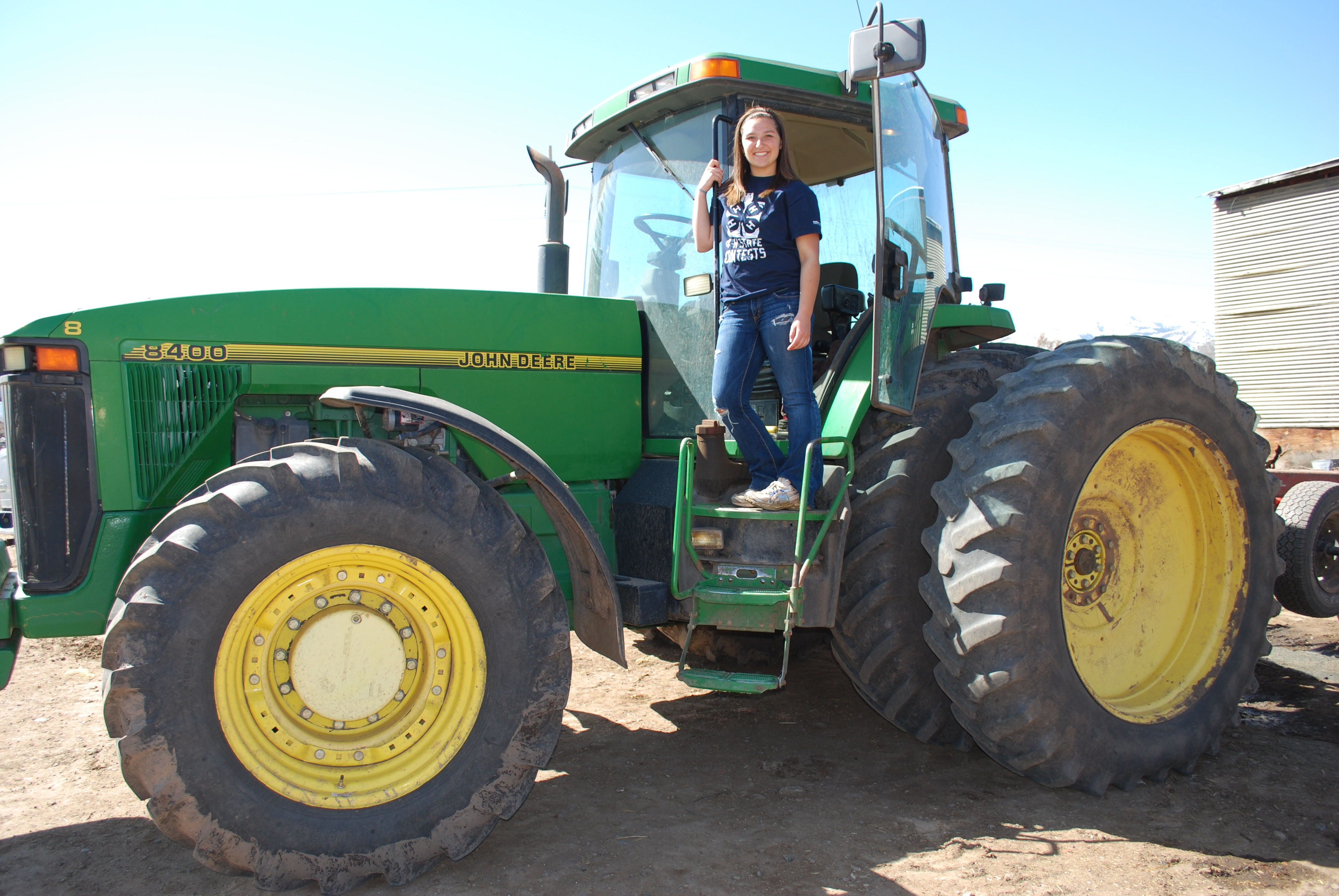 Springtime for Me Means Driving the John Deere 8400 ...
