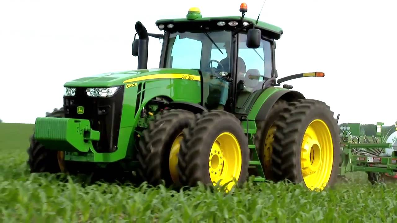 John Deere 8R 8RT Series tier 4 Tractor www.crossimp.com ...