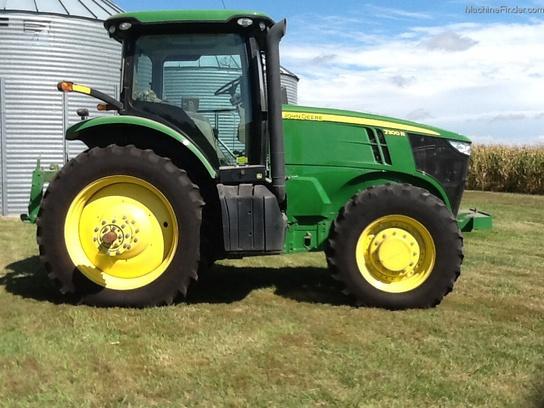 2013 John Deere 7200R Tractors - Row Crop (+100hp) - John ...