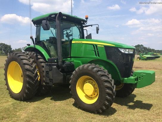 2011 John Deere 7200R Tractors - Row Crop (+100hp) - John ...