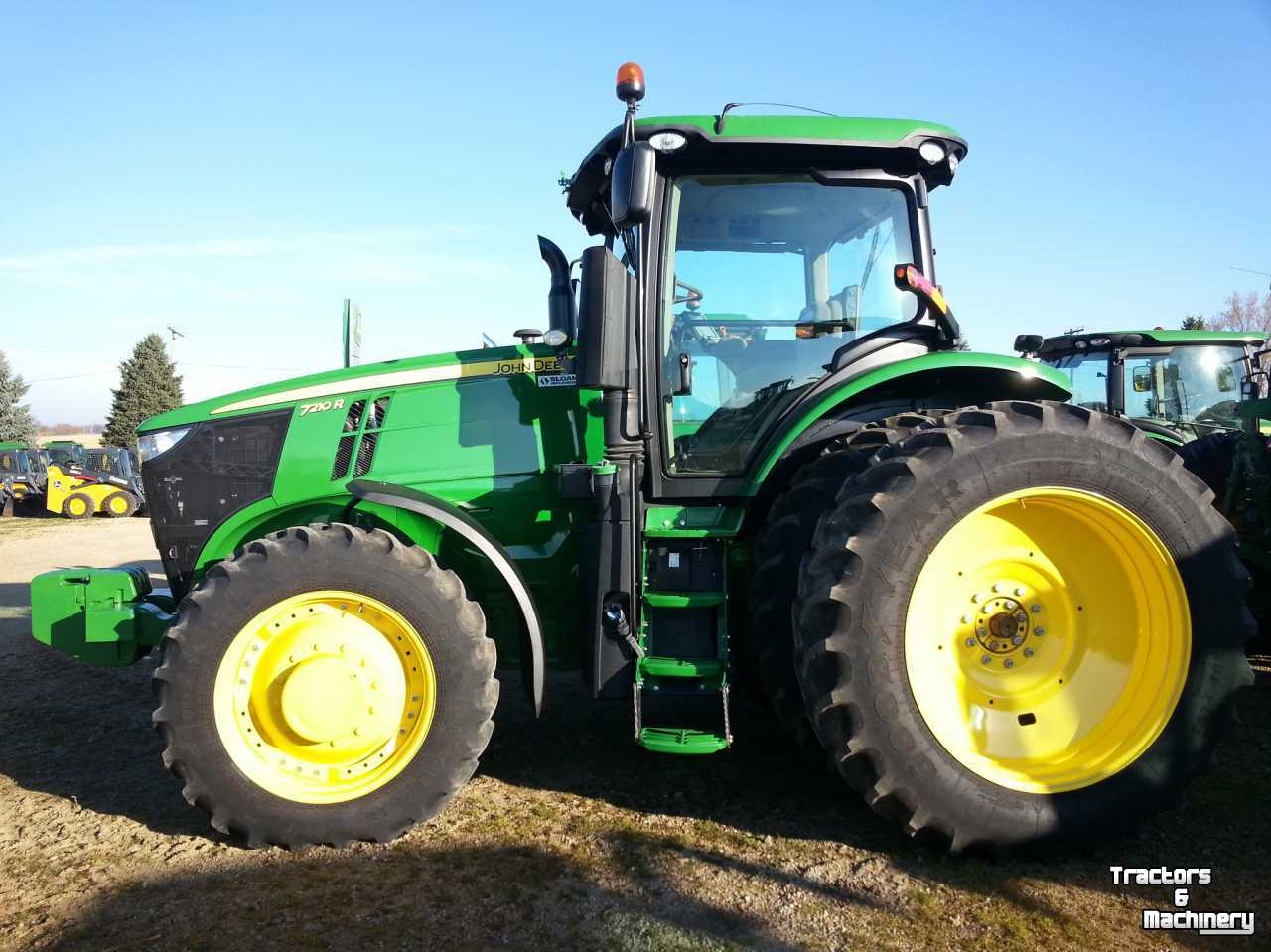 John Deere 7210R COMMAND QUAD 20-20 TRACTOR WI USA - Used ...