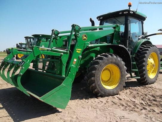 2012 John Deere 7215R Tractors - Row Crop (+100hp) - John ...