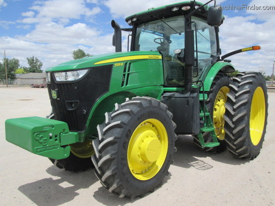 2013 John Deere 7215R Tractors - Row Crop (+100hp) - John ...