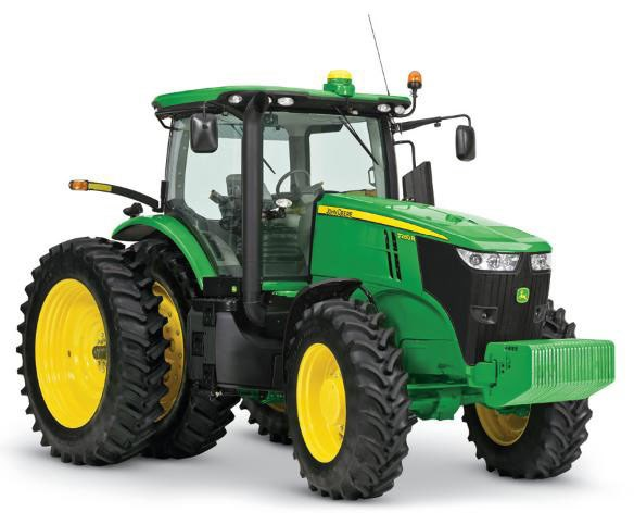 JOHN DEERE 7215R Tractors Specification
