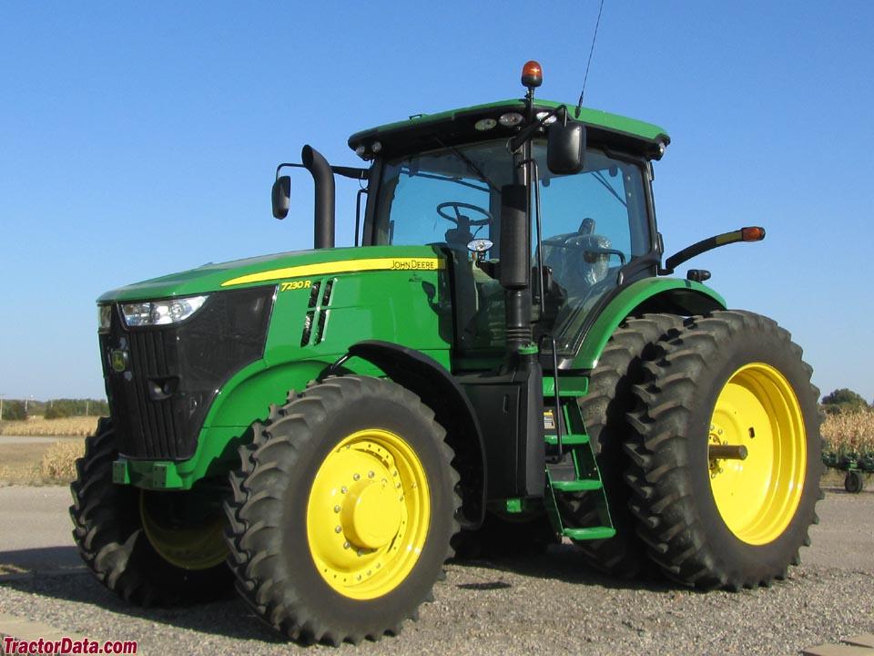 TractorData.com John Deere 7230R tractor photos information