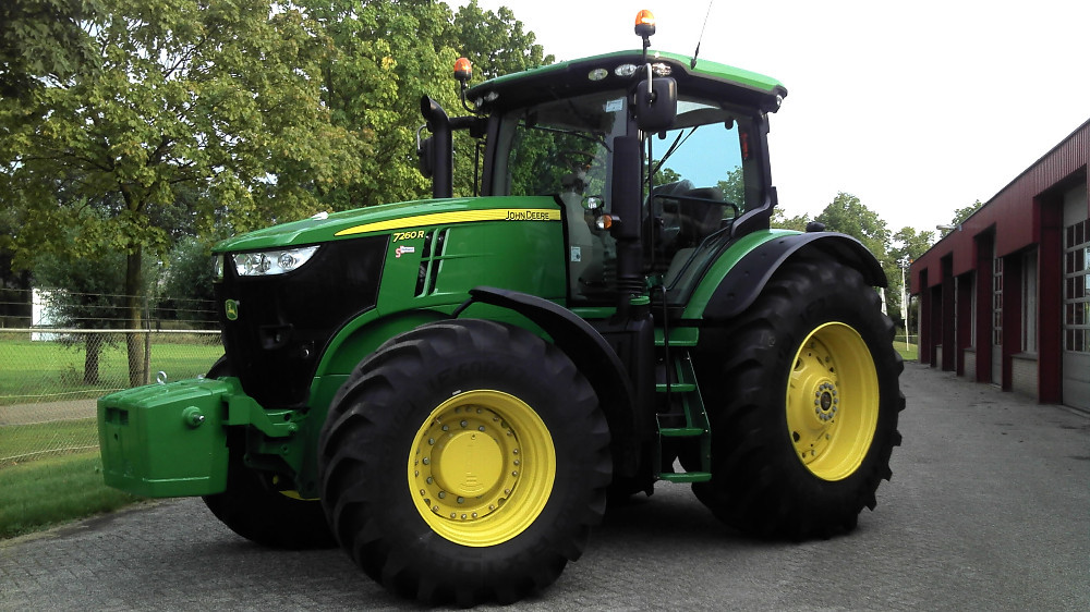 John Deere 7260r Tractor - Buy Tractor Product on Alibaba.com