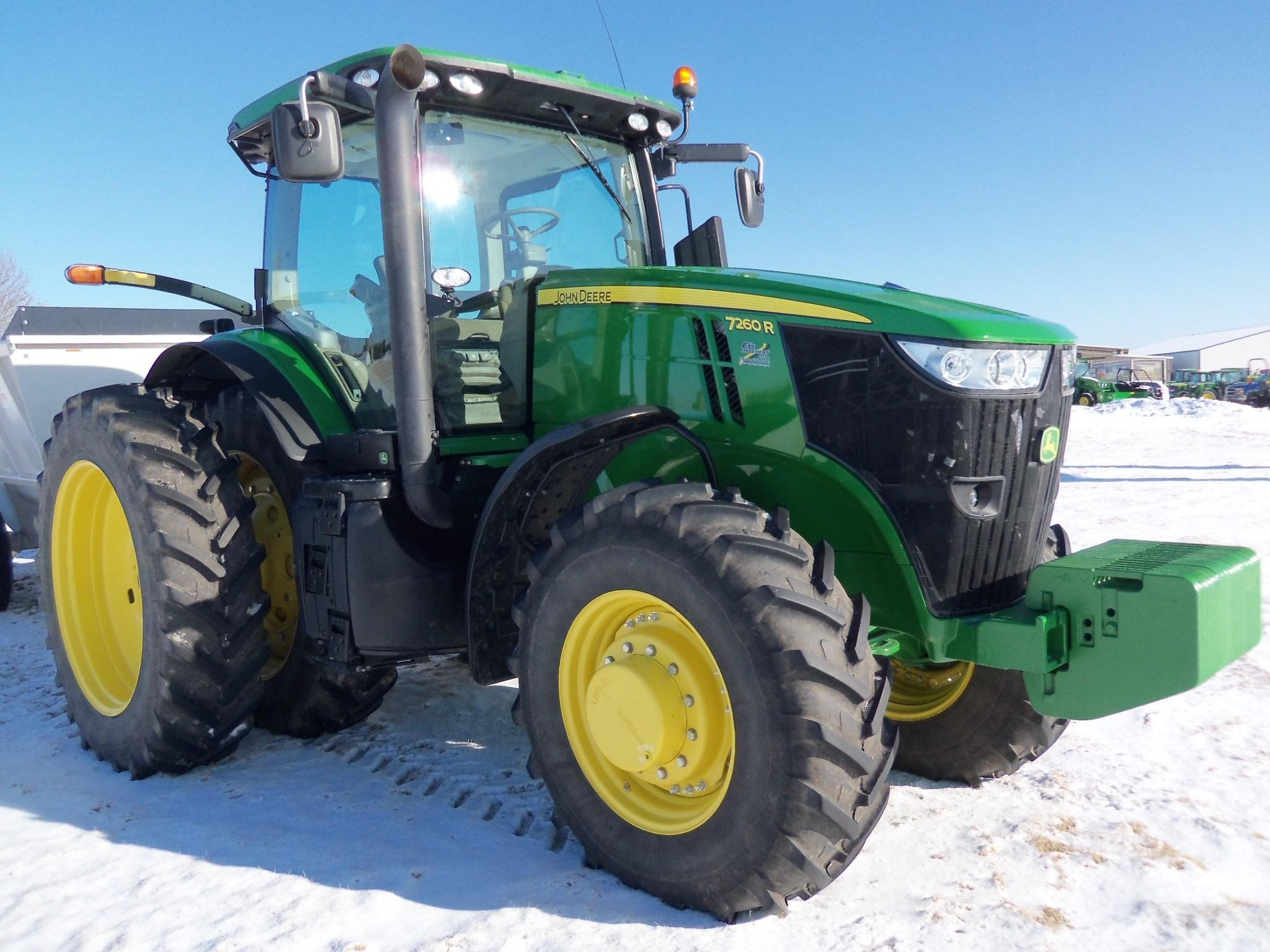Wisconsin Ag Connection - John Deere 7260R Tractors for sale