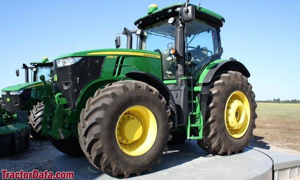TractorData.com John Deere 7260R tractor photos information