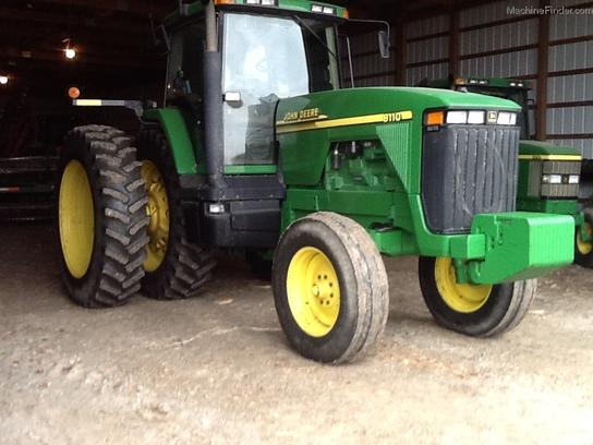2000 John Deere 8110 Tractors - Row Crop (+100hp) - John ...