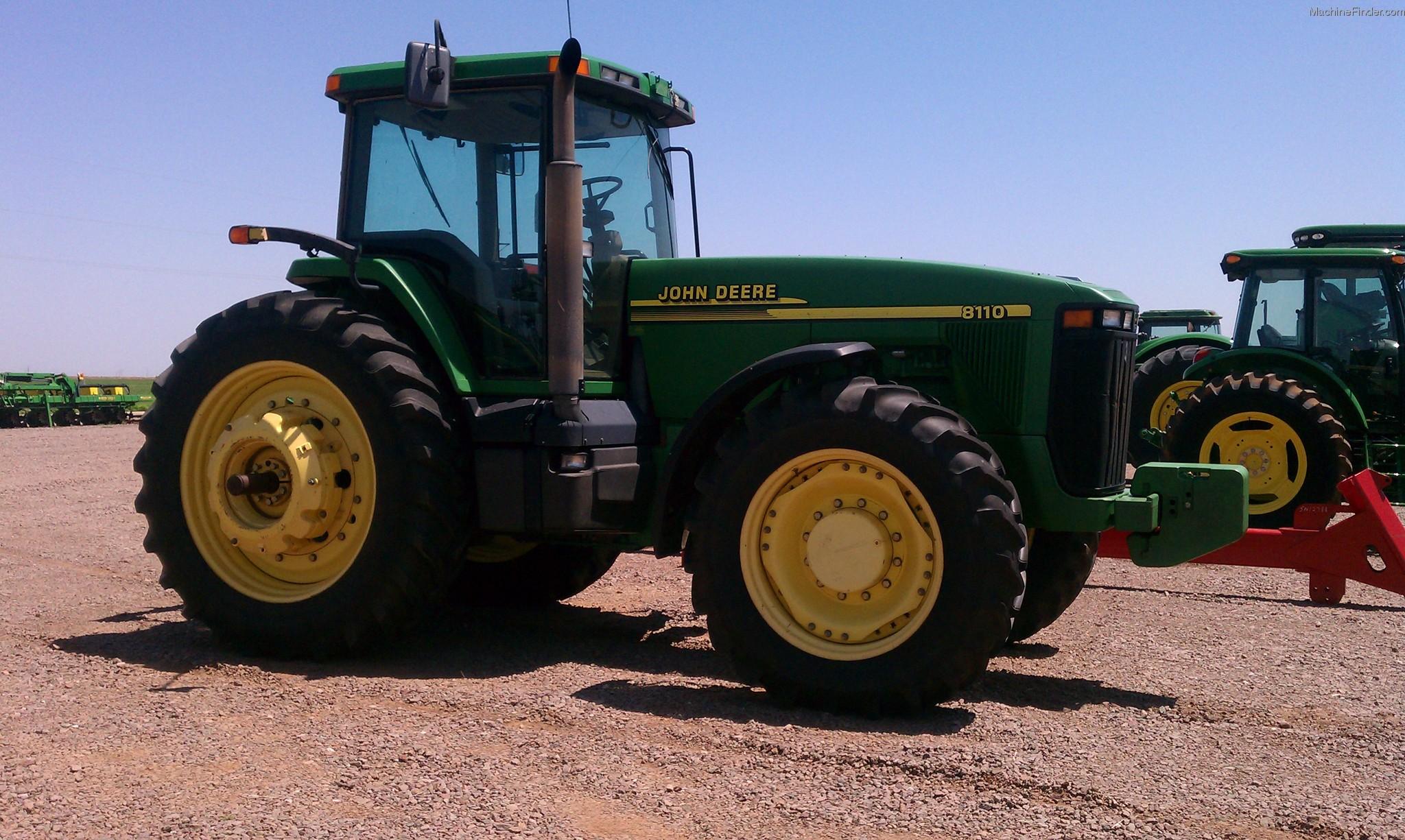 2008 John Deere 8110 Tractors - Row Crop (+100hp) - John ...