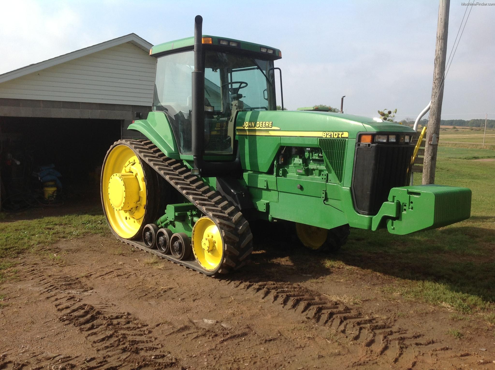 2001 John Deere 8210T Tractors - Row Crop (+100hp) - John ...