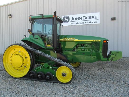 2000 John Deere 8210T Tractors - Row Crop (+100hp) - John ...
