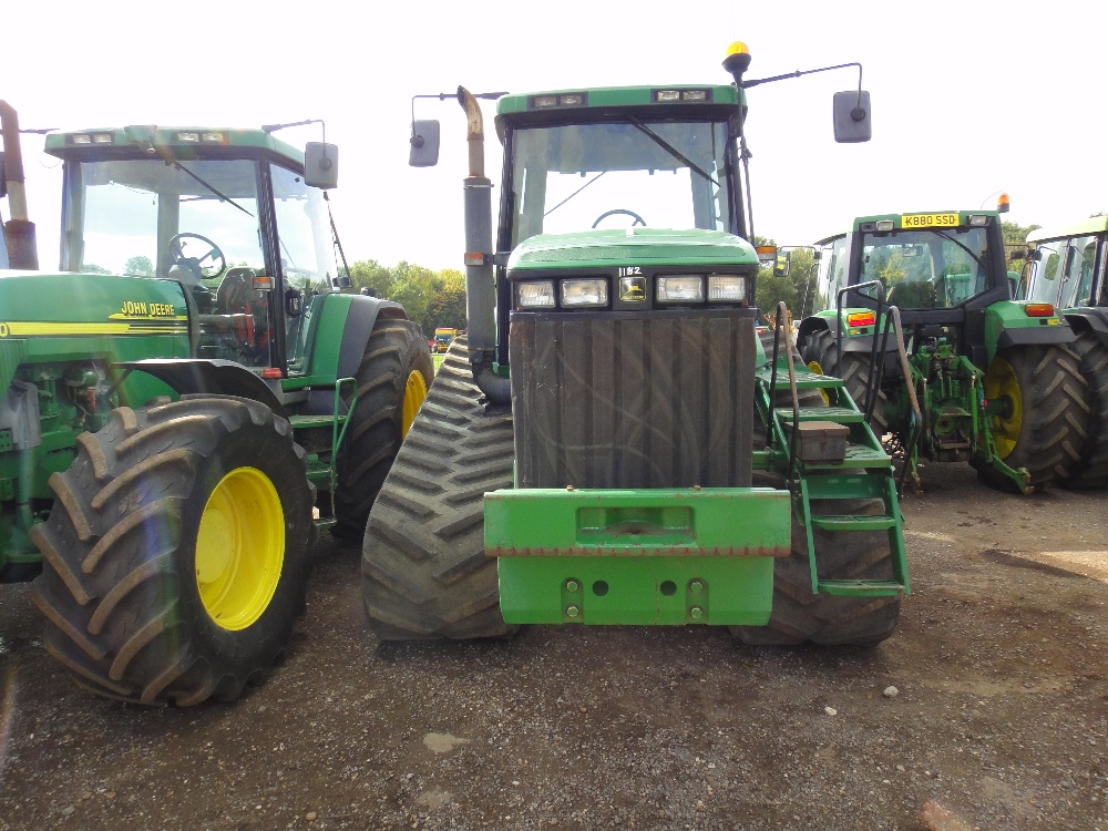 John Deere 8210T Tractor V5 will be supplied. Reg No. Y691 ...