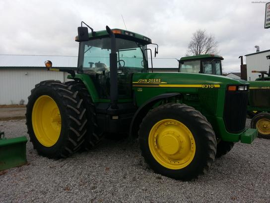 John Deere 8310 Tractors - Row Crop (+100hp) - John Deere ...
