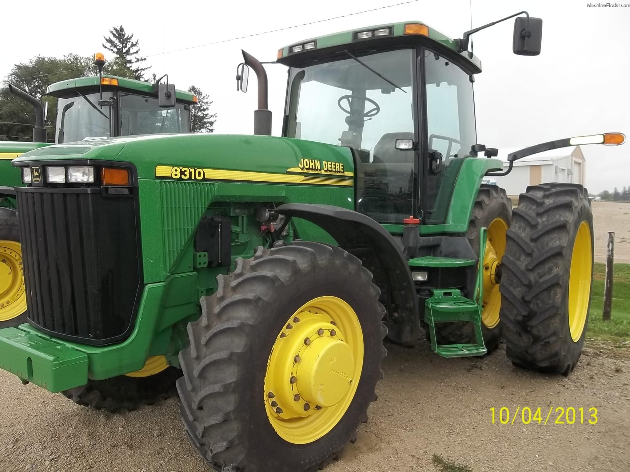 2001 John Deere 8310 Tractors - Row Crop (+100hp) - John ...
