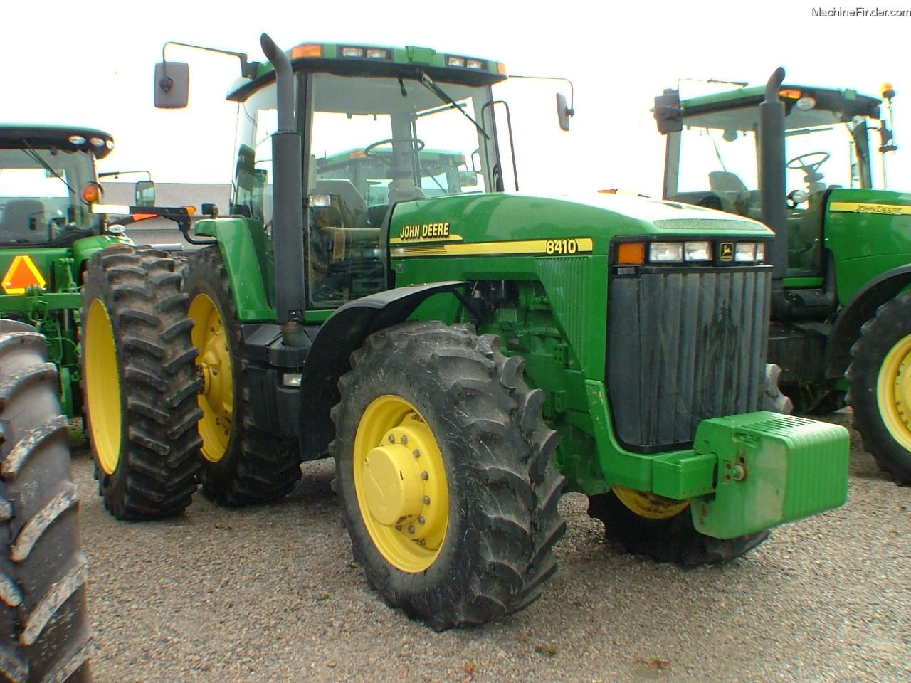 2001 John Deere 8410 Tractors - Row Crop (+100hp) - John ...