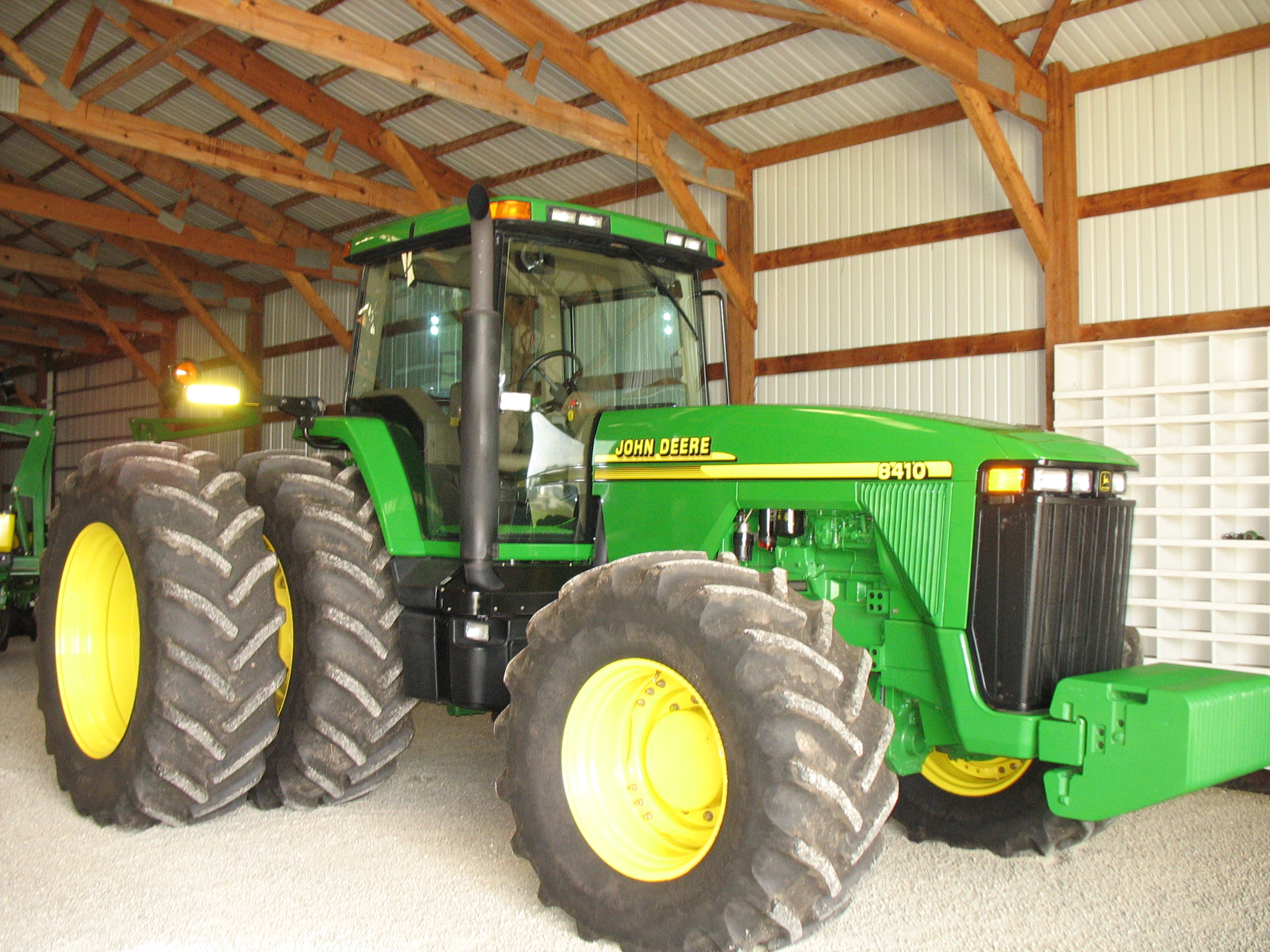 John Deere 8410 Tractor Sells for $136K at Auction