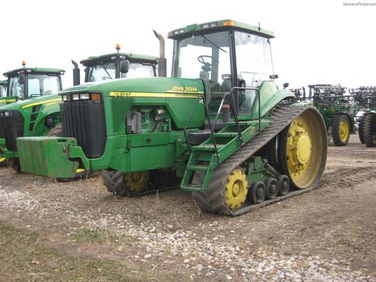 2001 John Deere 8410T Tractors - Row Crop (+100hp) - John ...