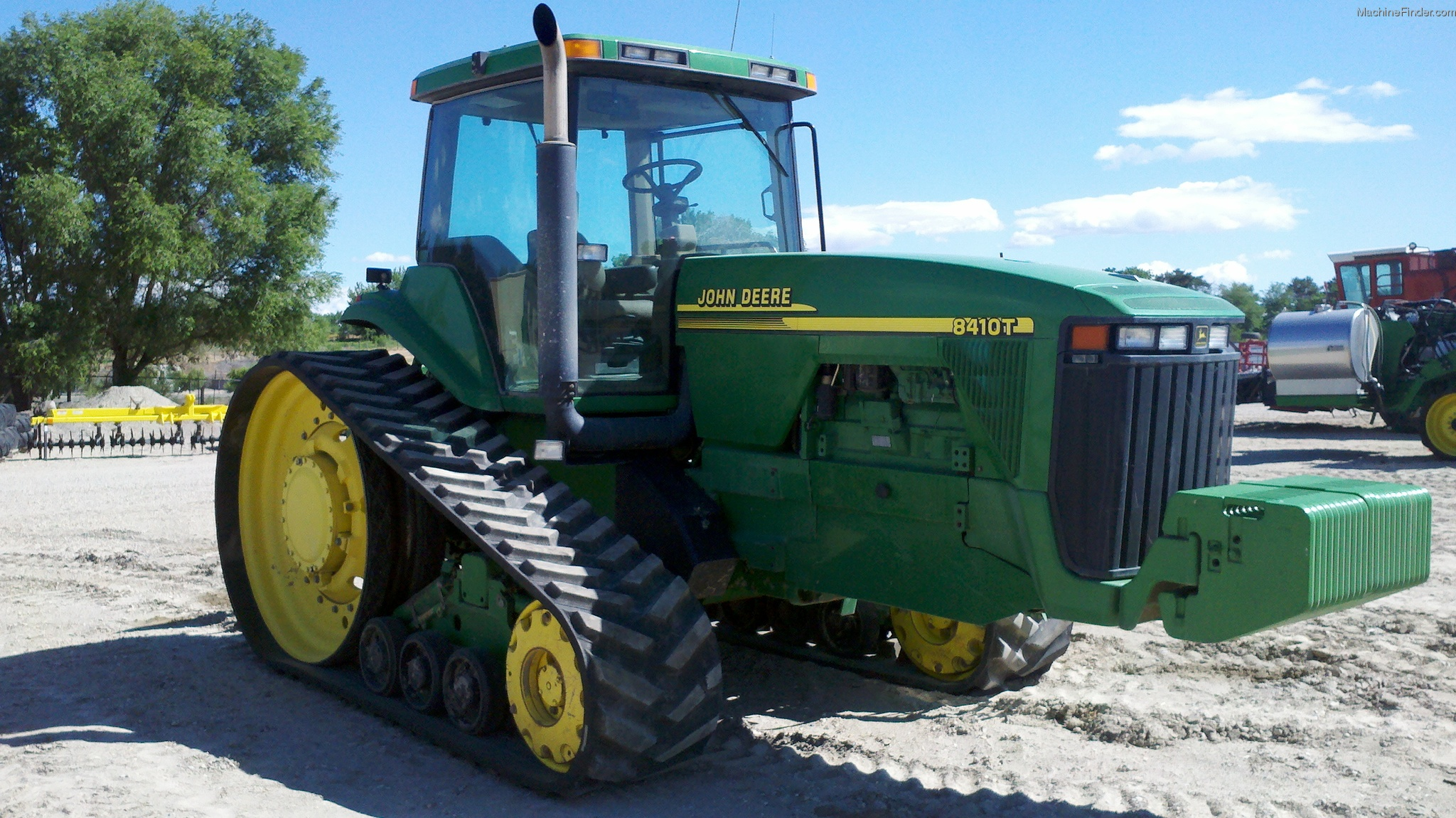 John Deere 8410T Tractors - Row Crop (+100hp) - John Deere ...