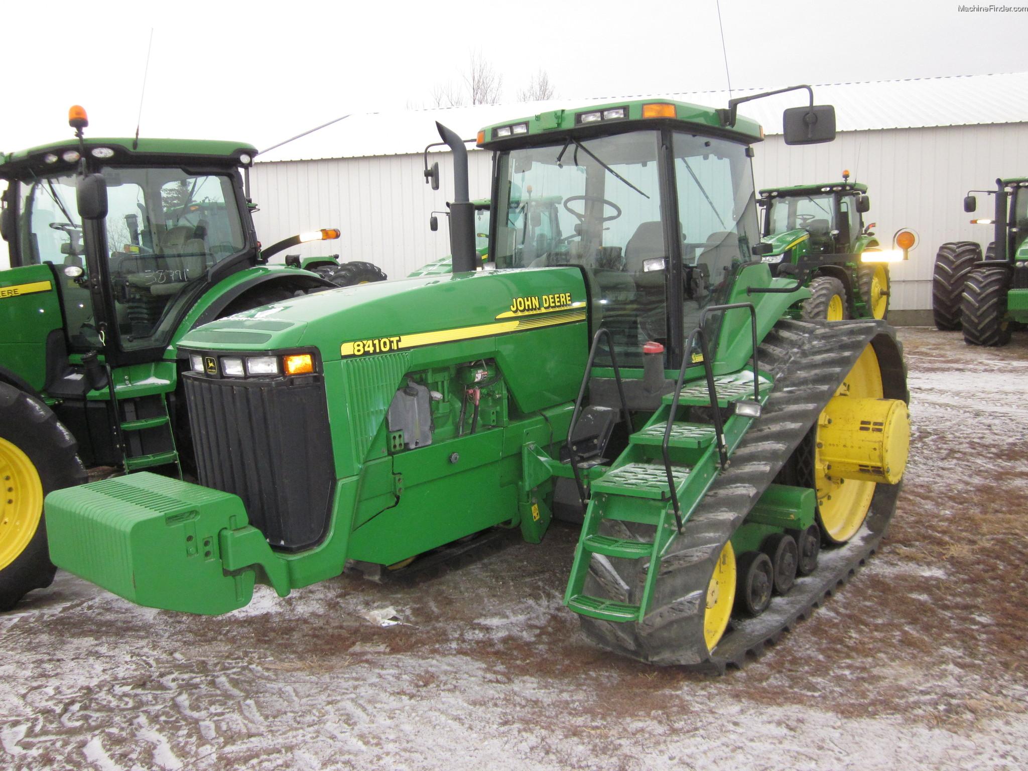 2000 John Deere 8410T Tractors - Row Crop (+100hp) - John ...