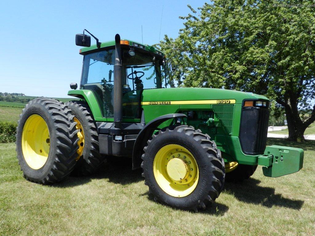 1995 John Deere 8100 Tractors - Row Crop (+100hp) - John ...