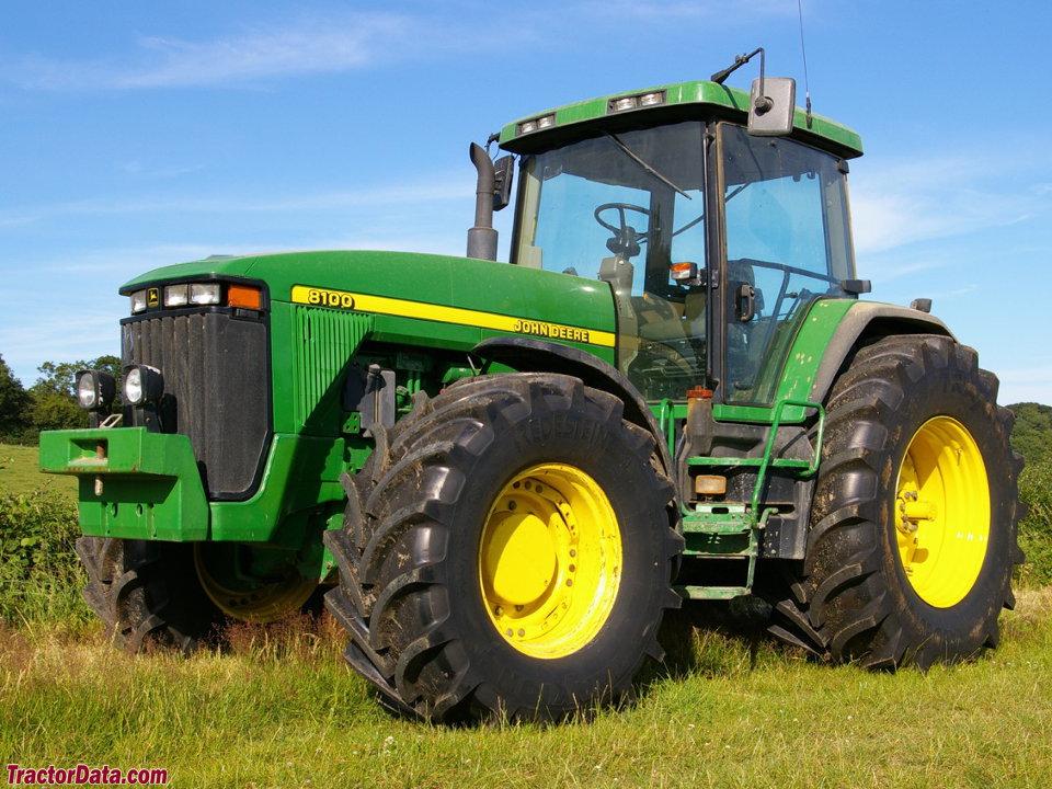 TractorData.com John Deere 8100 tractor photos information