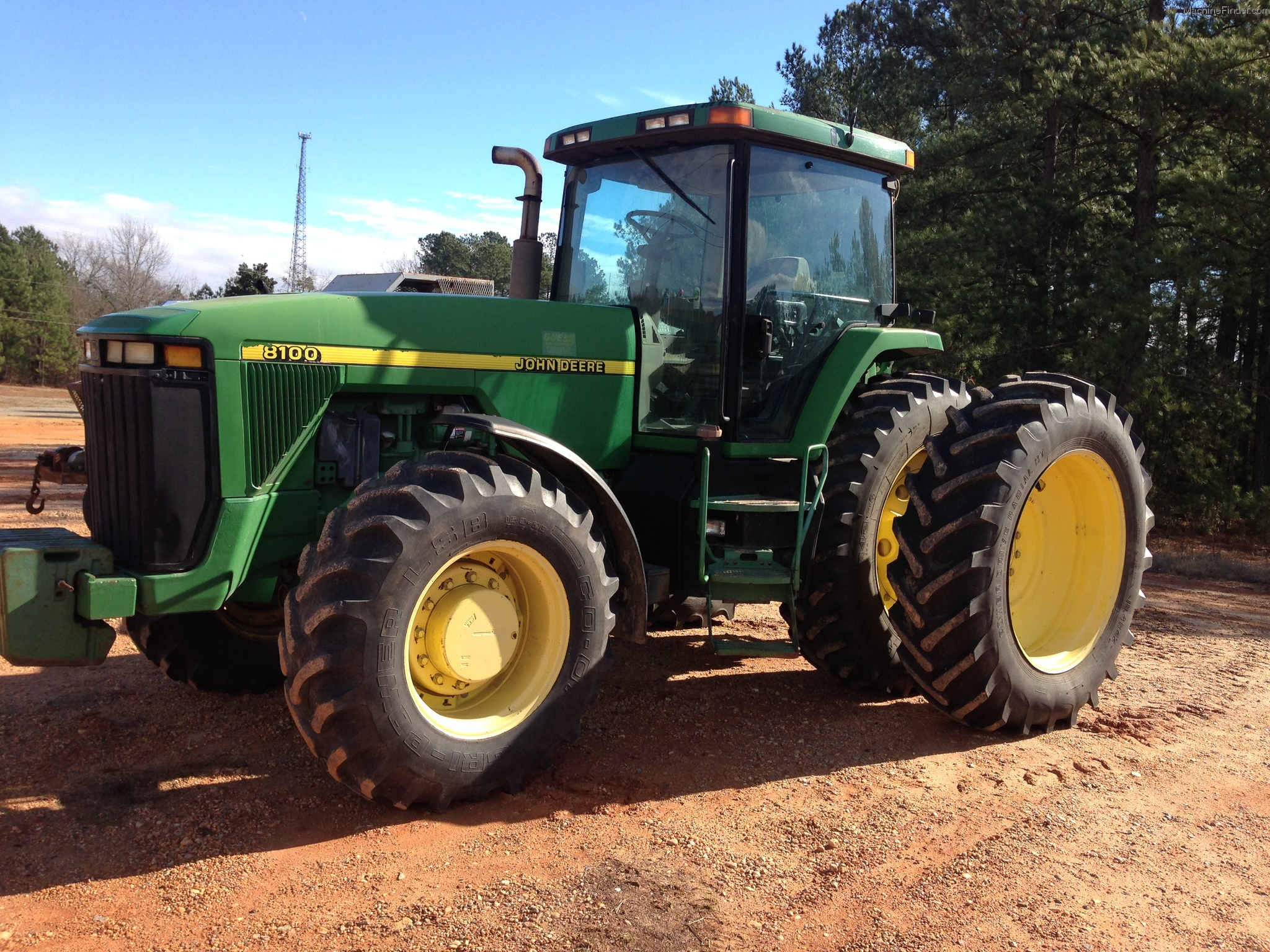 1996 John Deere 8100 Tractors - Row Crop (+100hp) - John ...