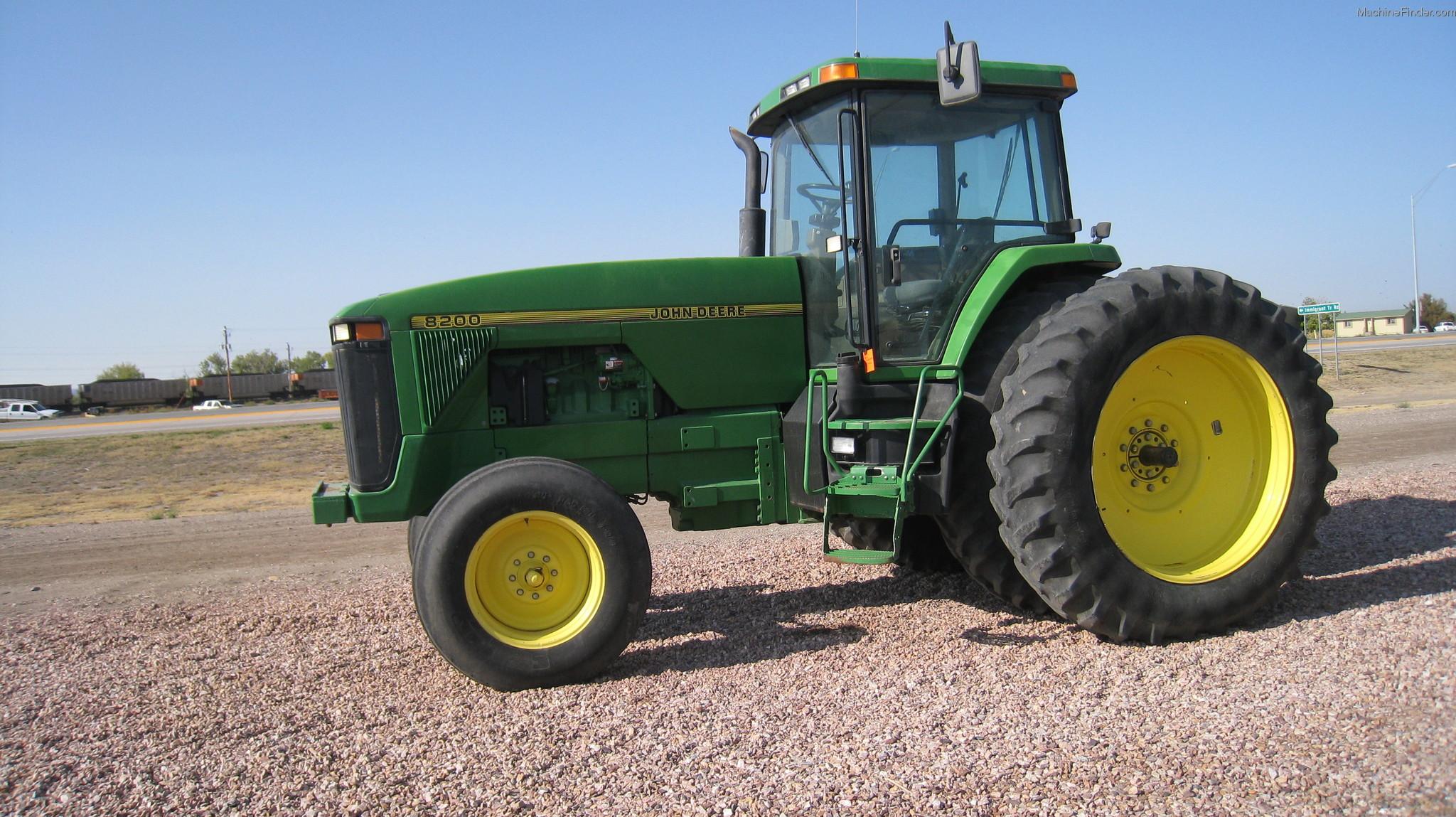 1996 John Deere 8200 Tractors - Row Crop (+100hp) - John ...