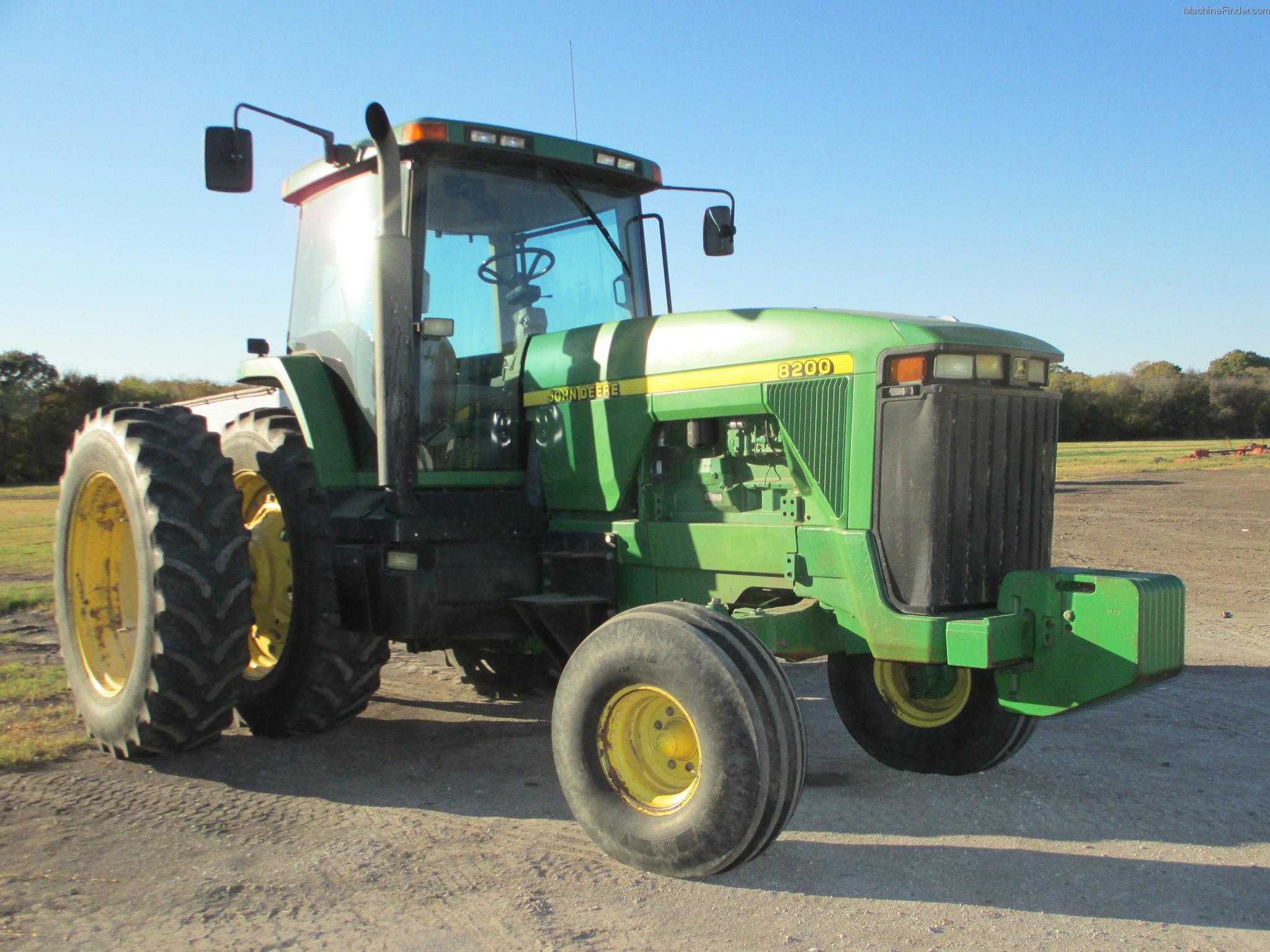 1998 John Deere 8200 Tractors - Row Crop (+100hp) - John ...