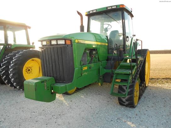 1998 John Deere 8200T Tractors - Row Crop (+100hp) - John ...