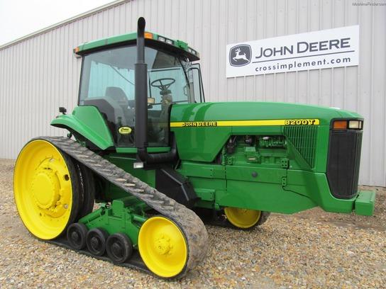 1997 John Deere 8200T Tractors - Row Crop (+100hp) - John ...