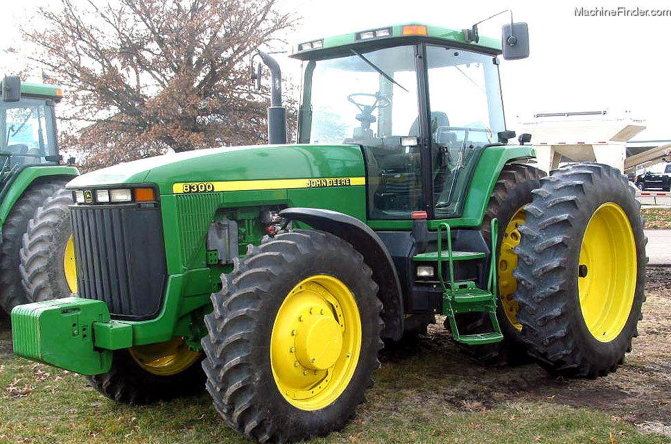 1998 John Deere 8300 Tractors - Row Crop (+100hp) - John ...