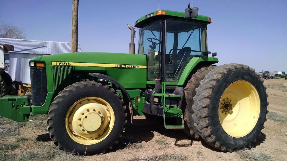 John Deere 8300 Tractor   eBay