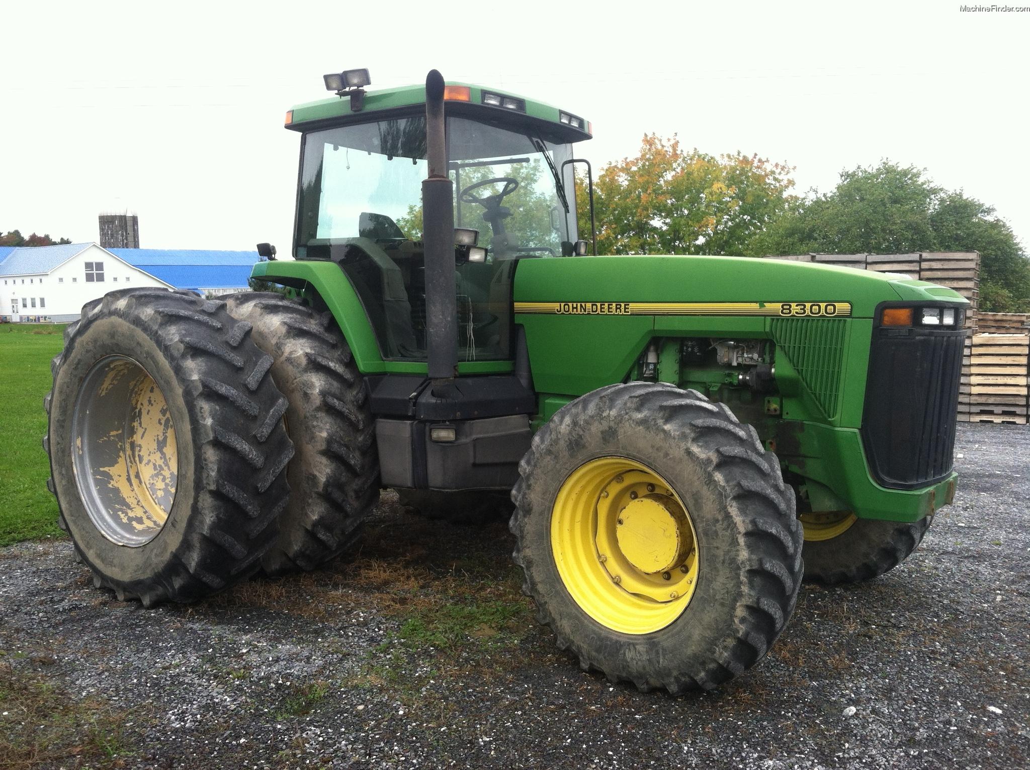 1995 John Deere 8300 Tractors - Row Crop (+100hp) - John ...