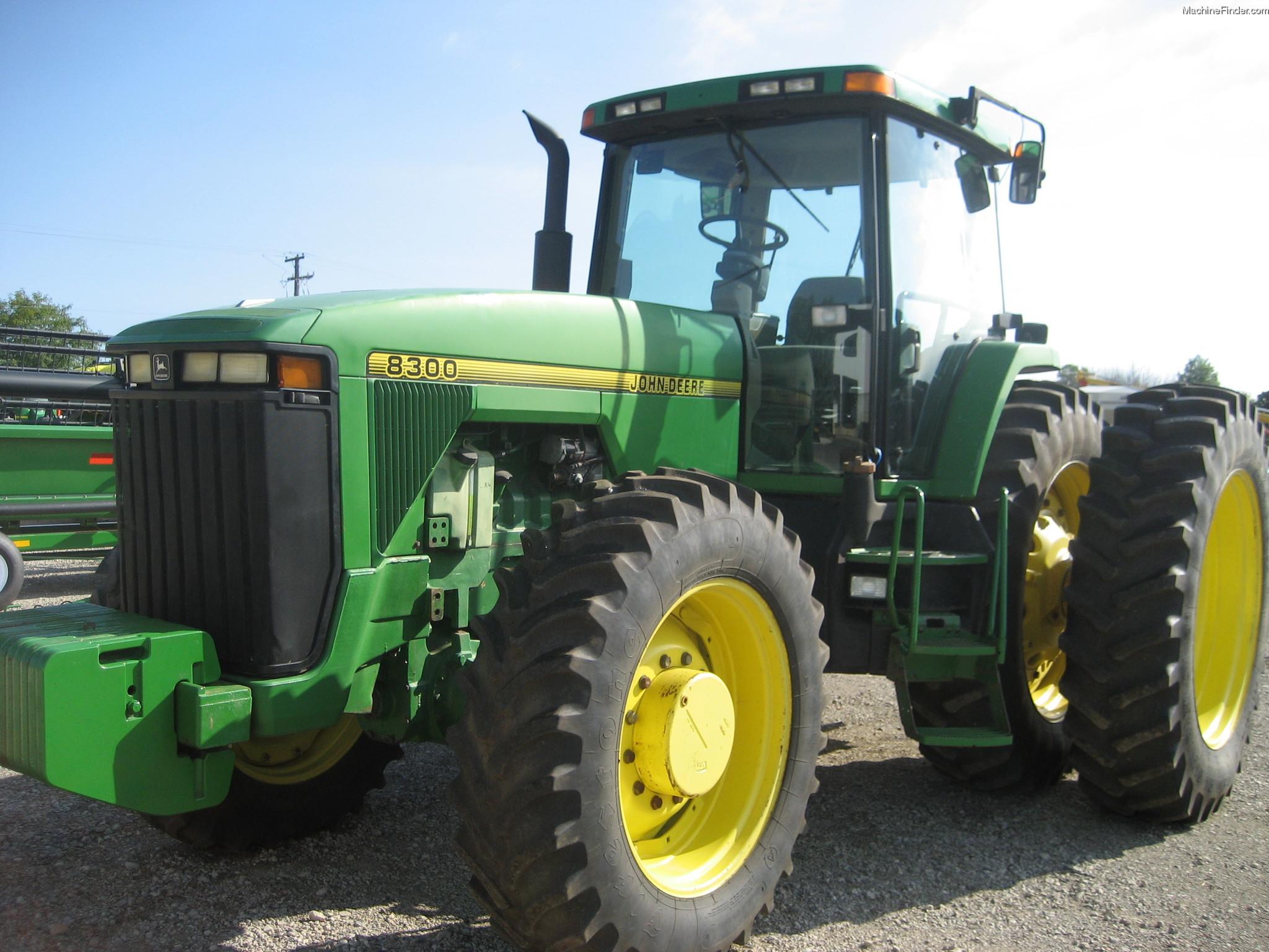 1996 John Deere 8300 Tractors - Row Crop (+100hp) - John ...