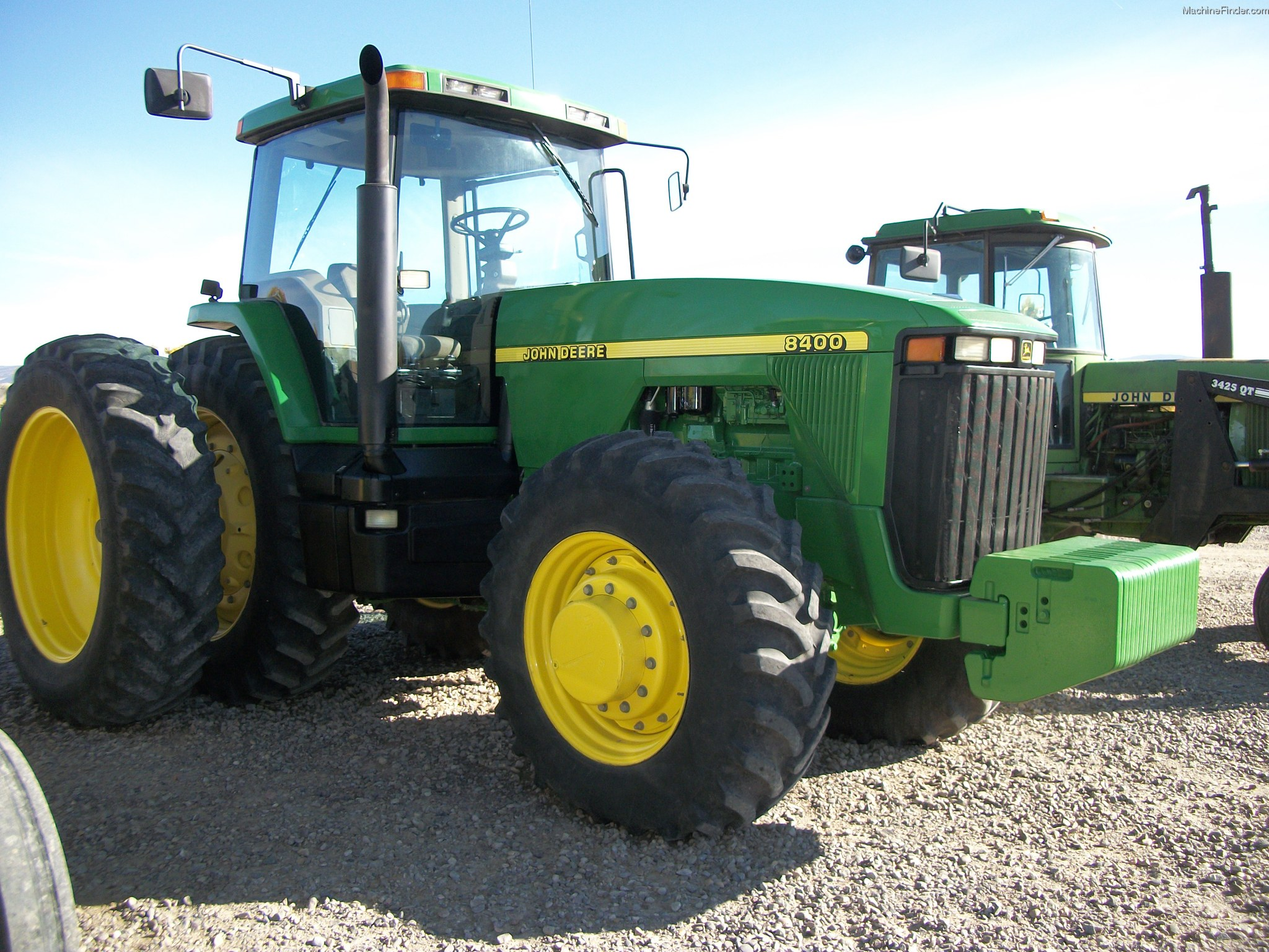John Deere 8400 Tractors - Row Crop (+100hp) - John Deere ...