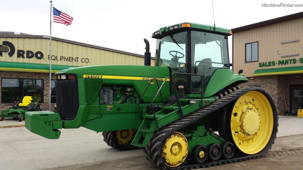 1998 John Deere 8400T Tractors - Row Crop (+100hp) - John ...