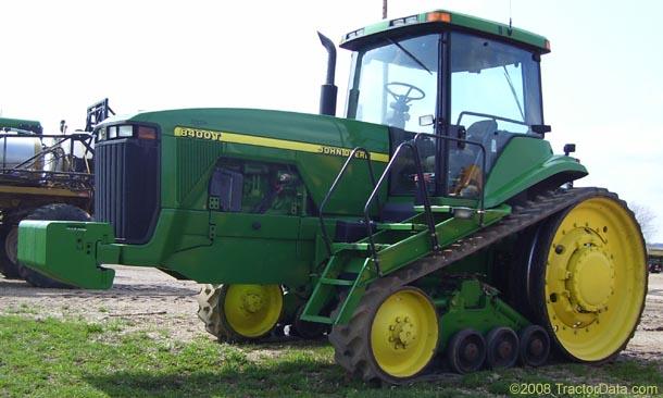 TractorData.com John Deere 8400T tractor photos information