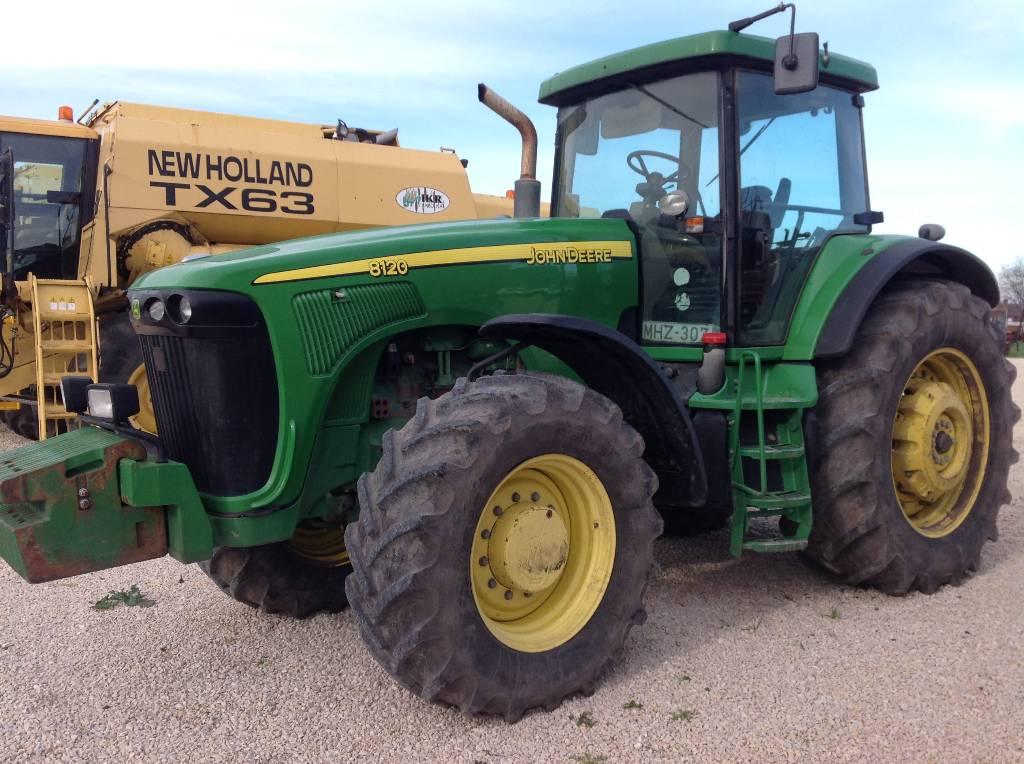 Used John Deere 8120 traktor tractors Year: 2001 Price ...