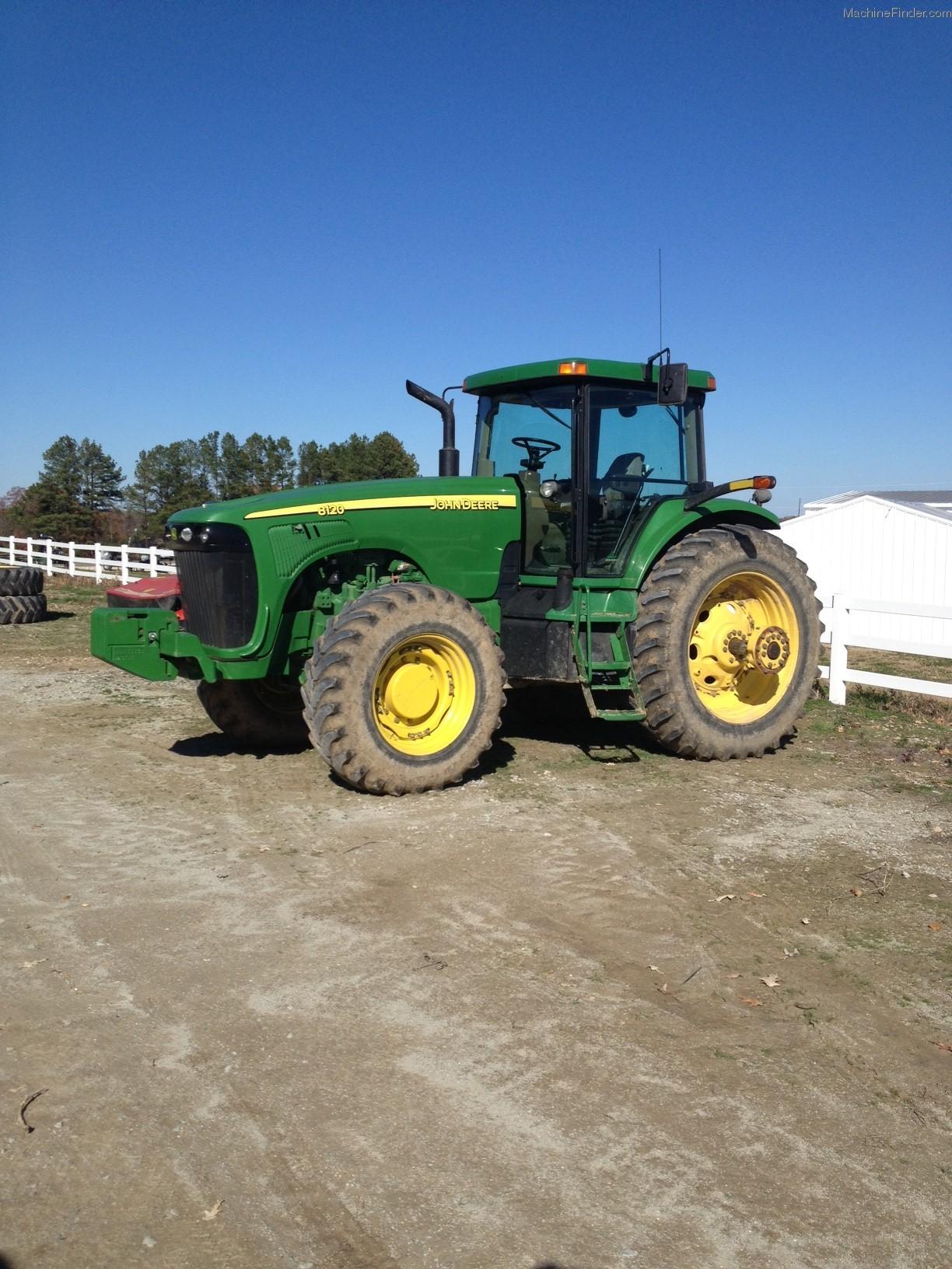 2002 John Deere 8120 Tractors - Row Crop (+100hp) - John ...