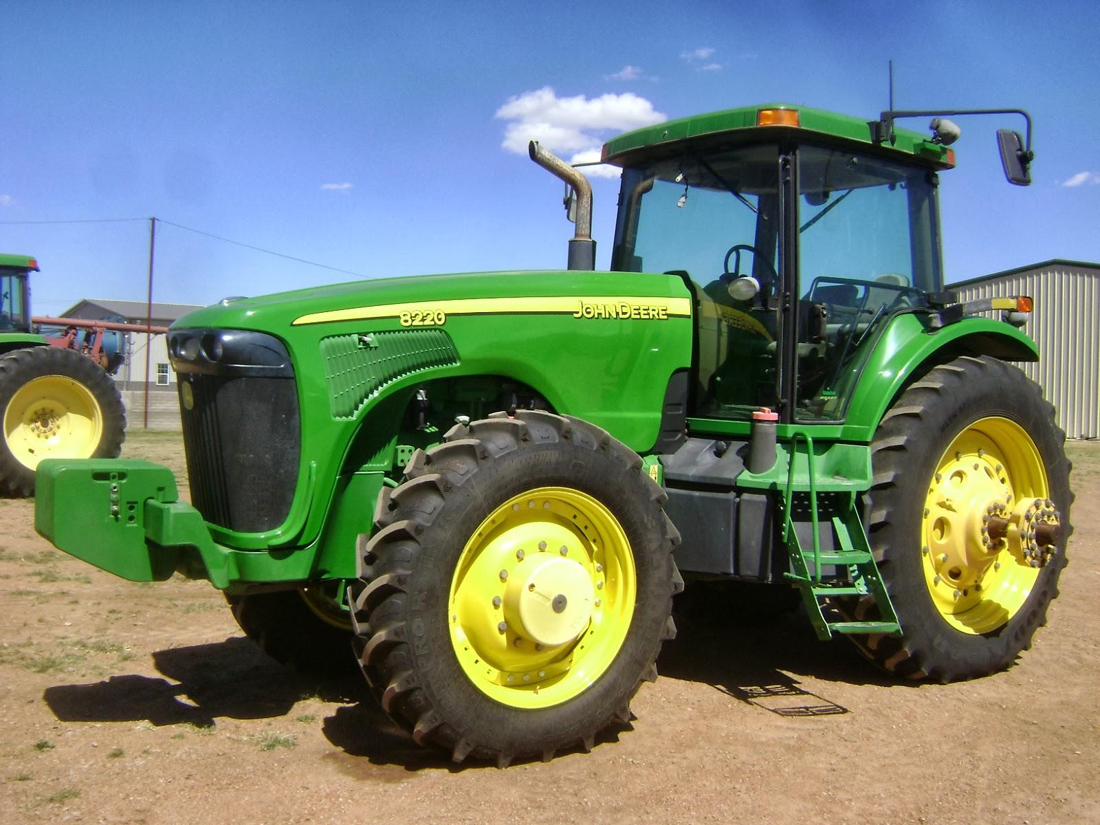 John Deere 8220 Tractor: John Deere 8000 - e-cighq.com