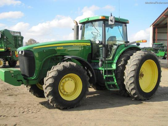2005 John Deere 8220 Tractors - Row Crop (+100hp) - John ...