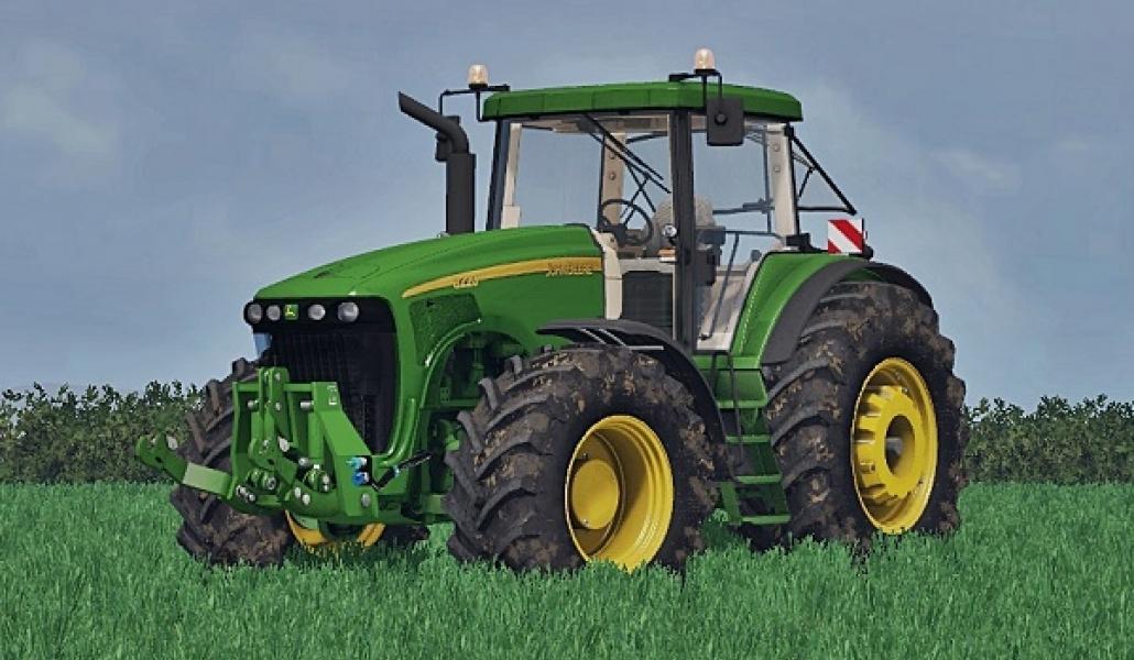 JOHN DEERE 8220 TRACTOR FS 2015 - Farming Simulator 2015 ...