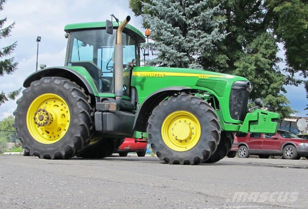 Used John Deere 8220 tractors Year: 2002 Price: $41,823 ...