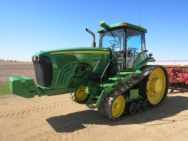JOHN DEERE 8320T Tractors - 175 HP Or Greater For Auction ...