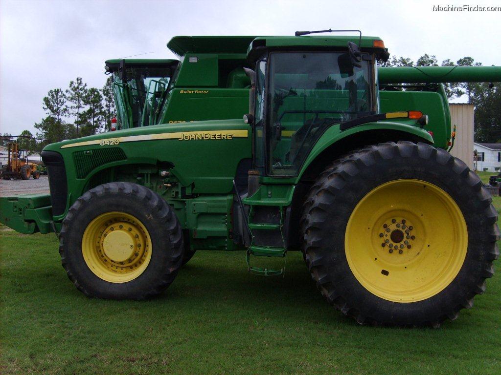Tractor John Deere 8420 - technikboerse.com
