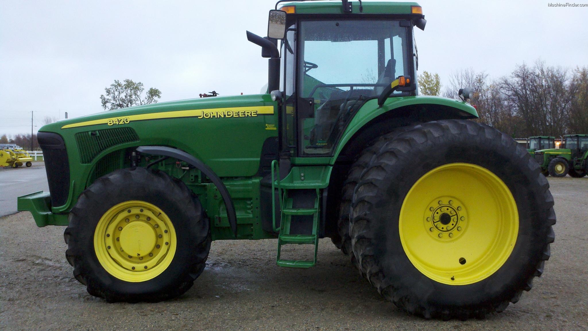 2002 John Deere 8420 Tractors - Row Crop (+100hp) - John ...