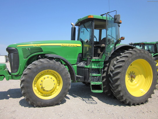 2004 John Deere 8420 Tractors - Row Crop (+100hp) - John ...